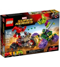 Lego Super Heroes Халк против Красного Халка 76078