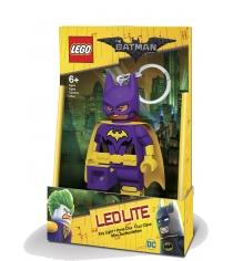Брелок фонарик Lego Batman Movie Batgirl LGL-KE104