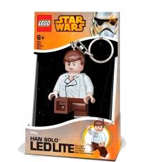 Брелок-фонарик для ключей Star Wars Хан Соло LGL-KE82