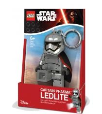 Брелок-фонарик Lego Star Wars Капитан Фазма LGL-KE96