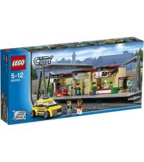 Lego City Железнодорожная станция 60050