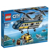 Lego City Вертолет исследователей моря 60093