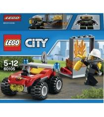 Lego City Пожарный квадроцикл 60105