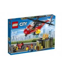 Lego City пожарная команда быстрого реагирования 60108