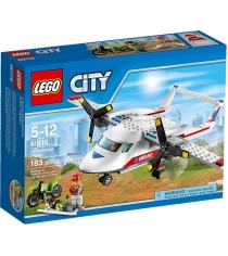Lego City Самолет скорой помощи 60116