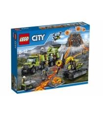 Lego City База исследователей вулканов 60124