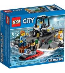 Lego City набор для начинающих остров тюрьма 60127