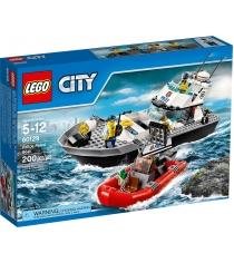 Lego City Полицейский патрульный катер 60129