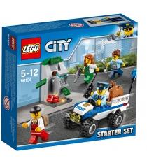 Lego City Набор для начинающих Полиция 60136