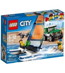 Lego Внедорожник с прицепом для катамарана 60149