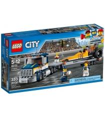 Lego City Great Vehicles Грузовик для перевозки драгстера 60151