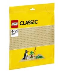 Lego Classic строительная пластина желтого цвета 10699