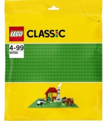 Lego Classic Строительная пластина зеленого цвета 10700...
