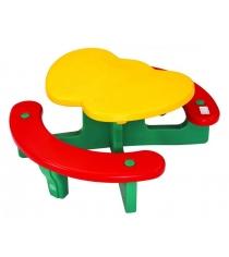 Детский столик Lerado с лавочками Яблочко LА-612