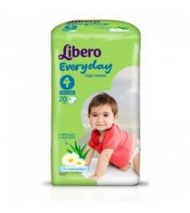 Подгузники Libero Libero EveryDay с ромашкой 7-18 кг 20 шт...