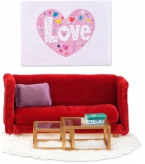 Набор кукольной мебели Lundby Смоланд Гостиная LB_60208100
