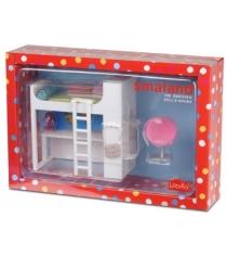 Набор кукольной мебели Lundby Смоланд Детская кровать чердак LB_60208400