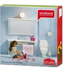 Набор кукольной мебели Lundby Смоланд Ванная с 1 раковиной LB_60208700