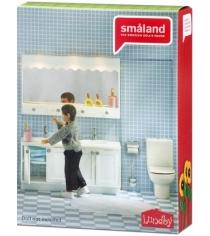 Набор кукольной мебели Lundby Смоланд Ванная с 2 раковинами LB_60208800