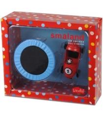 Набор для кукольного домика Lundby Смоланд Батут с машинкой LB_60508300