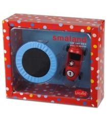 Набор для кукольного домика Lundby Смоланд Батут с машинкой LB_60509300