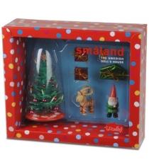 Набор для кукольного домика Lundby Смоланд Елка с подарками LB_60604500