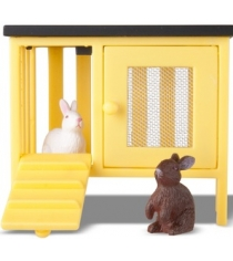 Набор для кукольного домика Lundby Смоланд Кролики и домик LB_60804100