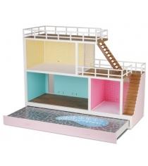 Кукольный домик Lundby Стокгольм с бассейном LB_60903200