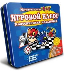 Магнитная игра Mack Zack 3 в 1 Шахматы Шашки Нарды GS Сlassic...