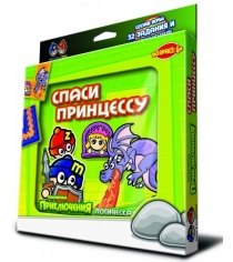 Магнитная игра Mack Zack Спаси принцессу GR-SAVE