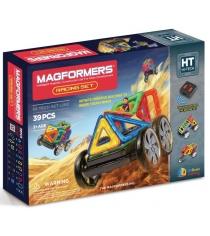 Магнитный конструктор Magformers Hi-Tech 63131 Гонки