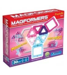 Магнитный конструктор Magformers 30 пастель 63097/704002...