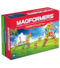 Магнитный конструктор Magformers Creator 63110-60 Неоновые цвета...