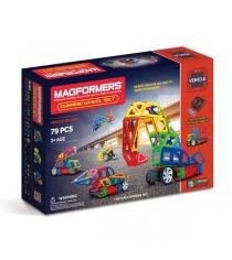 Магнитный конструктор Magformers Vehicle 63116 Колеса в действии...
