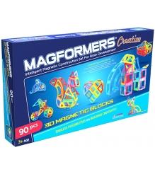 Магнитный конструктор Magformers Creative 90 63118/703004