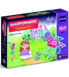 Магнитный конструктор Magformers Princess Set 63134/704003