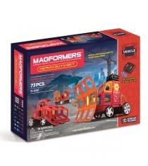 Магнитный конструктор Magformers Vehicle 63139 Сверхмощные машины...