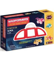 Магнитный конструктор Magformers My First 63145 Красный багги