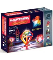Магнитный конструктор Magformers Led Lighted set 709001