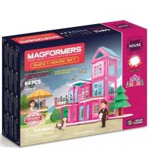 Магнитный конструктор Magformers House 705001 Дом, родной дом...