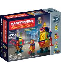 Магнитный конструктор Magformers Hi-Tech 63137 Прогулка с роботом