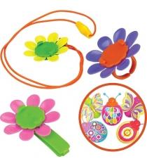Набор Magic Blooms с волшебным жучком кольцом ожерельем и заколкой для волос 88471S