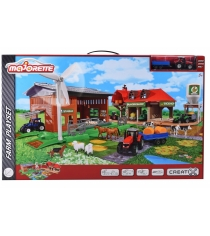 Majorette большая ферма creatix и трактор 2050006