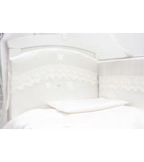 Комплект в кроватку 6 предметов Makkaroni Kids Бабочки...
