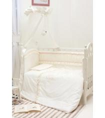 Комплект в кроватку 6 предметов Makkaroni Kids Нежность...