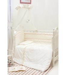 Комплект в кроватку 6 предметов Makkaroni Kids Нежность