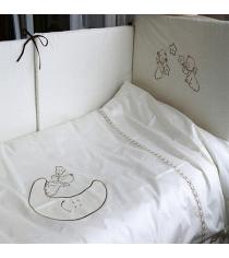 Комплект сменного белья в кроватку 3 предмета Makkaroni Kids Сказка маленького п...