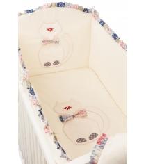Комплект в кроватку 6 предметов Makkaroni Kids (Маккарони Кидс) Toy Kitty...