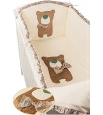 Комплект в кроватку 6 предметов Makkaroni Kids (Маккарони Кидс) Toy Teddy...