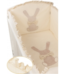 Комплект в кроватку 6 предметов Makkaroni Kids (Маккарони Кидс) Toy Rabbit...